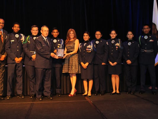 Cathedral City High School Air Force Jr. ROTC - 2015 Non Profit of the Year.JPG