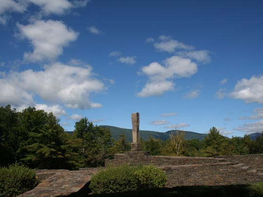 Opus 40 Sculpture Park in Saugerties is a large environmental sculpture created by sculptor and quarryman Harvey Fite over 37 years