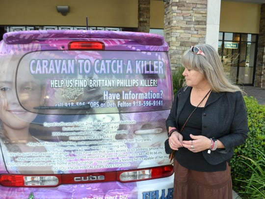 Maggie Zingman has taken three to six weeks off work to travel the country in a hot pink Nissan Cube spreading the word about the slaying of her daughter in  2004.