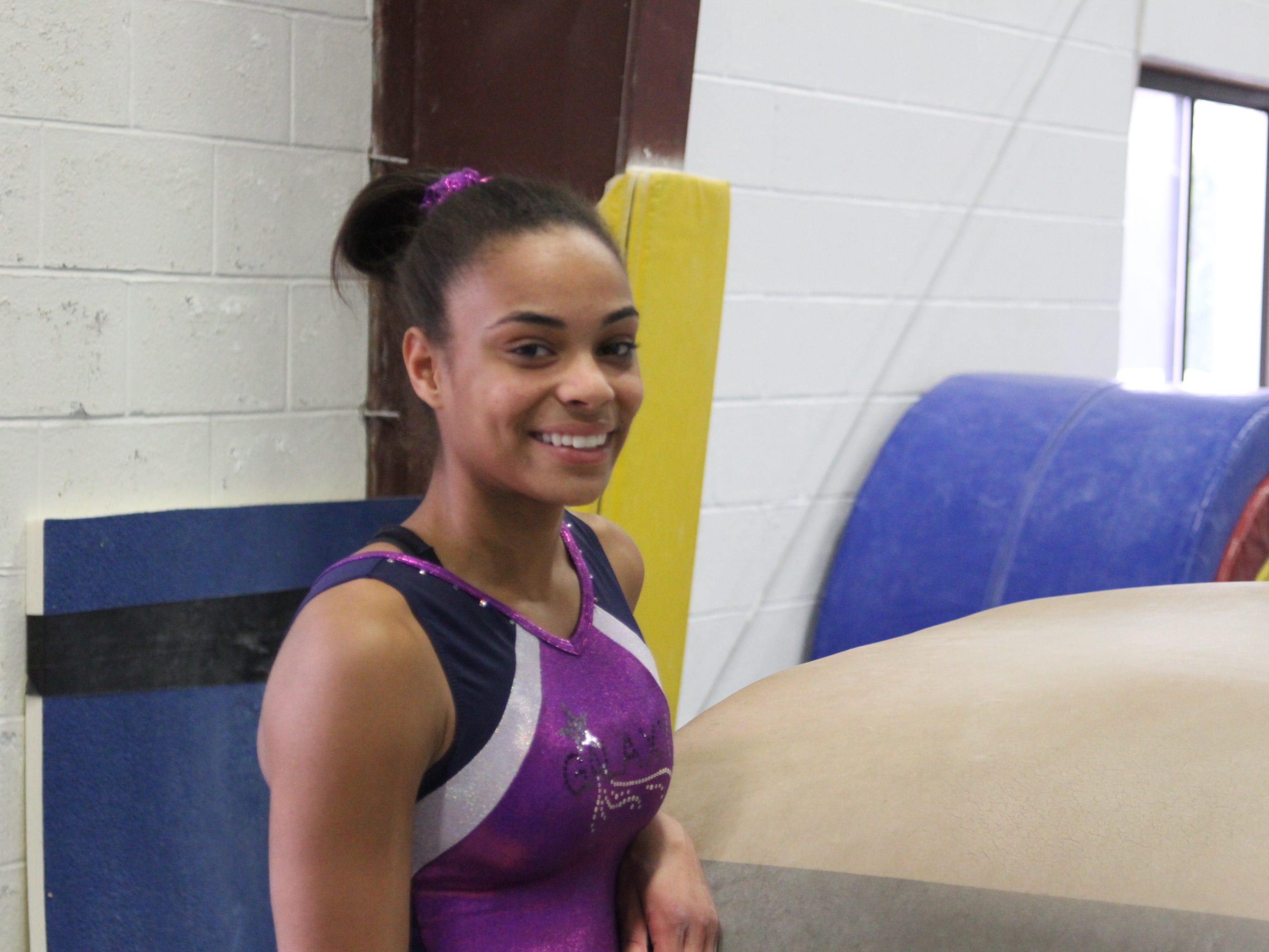 Nyack freshman gymnast Amara Cunningham is the 2015 Journal News Gymnast of the Year.