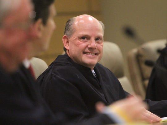 Sen. Greg Lavelle criticized Delaware Chief Justice