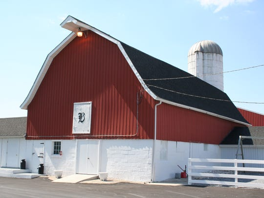 A main barn on the Bennett Farm in Milford has been converted into a museum now that the family longer has dairy cows.