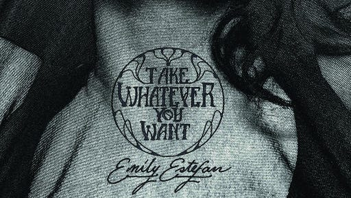 """This cover image released by Alien Shrimp Records shows """"Take Whatever You Want,"""" the debut album for Emily Estefan."""