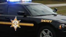 Harrison County Sheriff's Dept. car