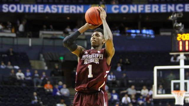 Mississippi State guard Fred Thomas
