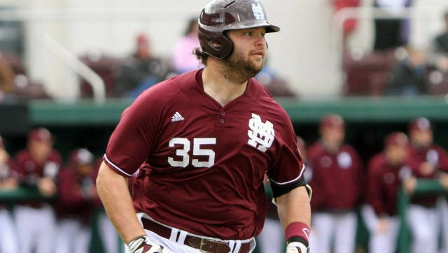Mississippi State senior Wes Rea missed the weekend finale with a knee injury.