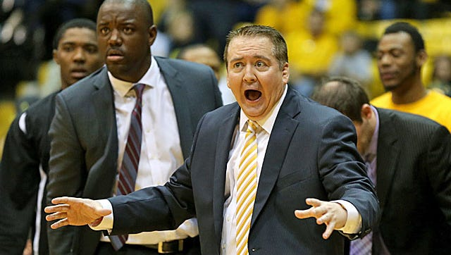 Former Tennessee and Southern Miss coach Donnie Tyndall