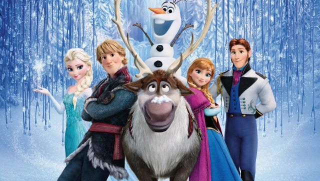 """The Count Basie Theatre Cinema Society plans a """"Frozen"""" sing-along at 6 p.m. on Dec. 16 at the Red Bank facility."""