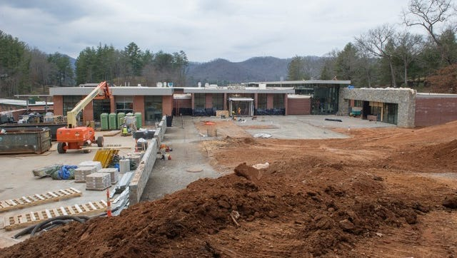 WCU's Brown Hall, a 55-year-old cafeteria, is undergoing $22.5 million in renovations.
