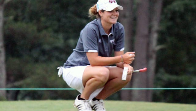 Ally McDonald and Mississippi State's women's golf team are ranked No. 1 in the nation.