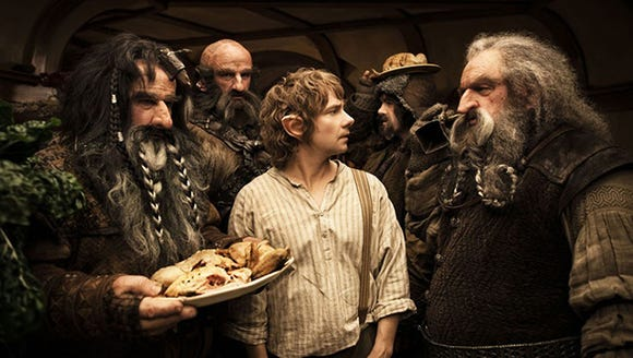 Catch a Hobbit marathon on Dec. 15.