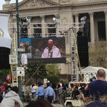 Pope delivers inspiring message