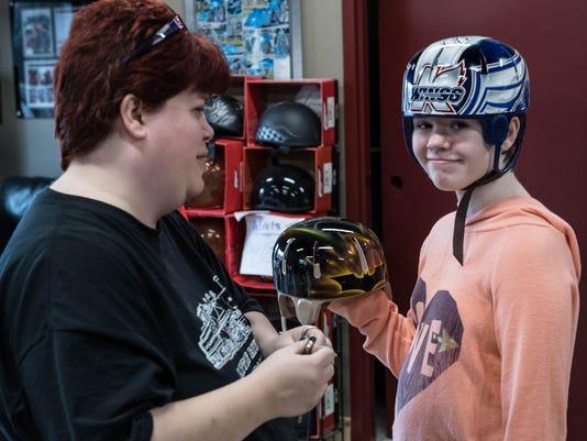 Helmet for Abby 5