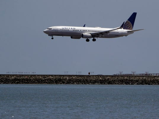 AP UNITED AIRLINES F A USA CA