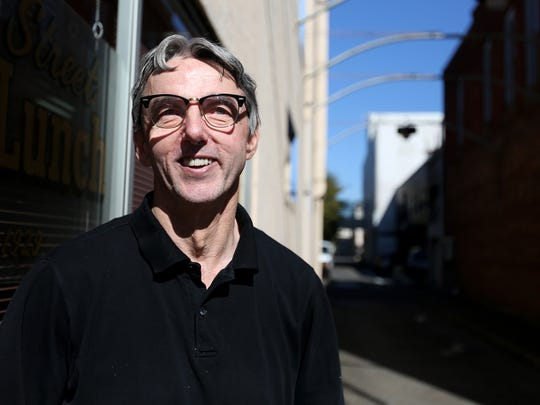 Robert Durkin a chef at Paradiso invites diners to