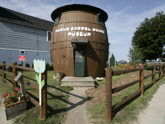 The Pickle Barrel House Museum in Grand Marais.