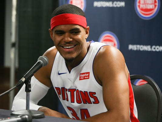 Detroit Pistons media day