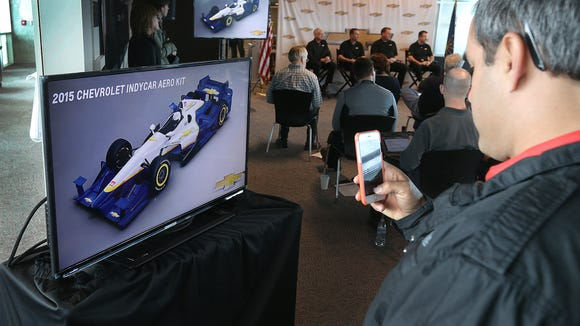 Juan Pablo Montoya won IndyCar's first race of 2015 with Chevrolet