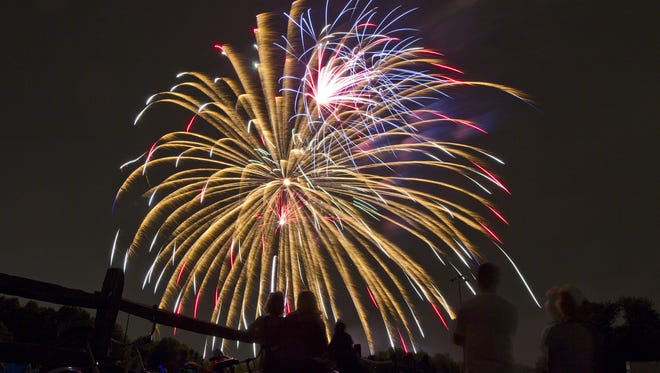 The Fourth of July weekend gets underway Friday with a fireworks show at Joe Palaia Park in Ocean Township.