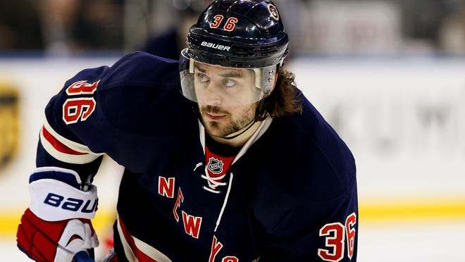 """Norwegian news agency VG Sporten reported Mats Zuccarello suffered a """"sharp concussion"""" after being hit in the head by teammate Ryan McDonagh's shot in Game 5."""