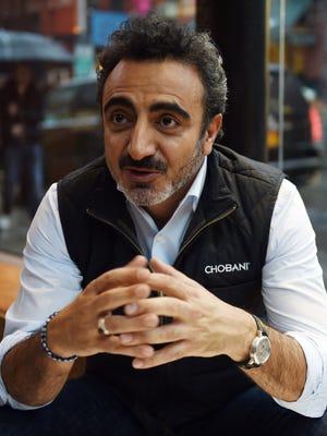 Turkish-American Hamdi Ulukaya is the founder and CEO of Chobani.
