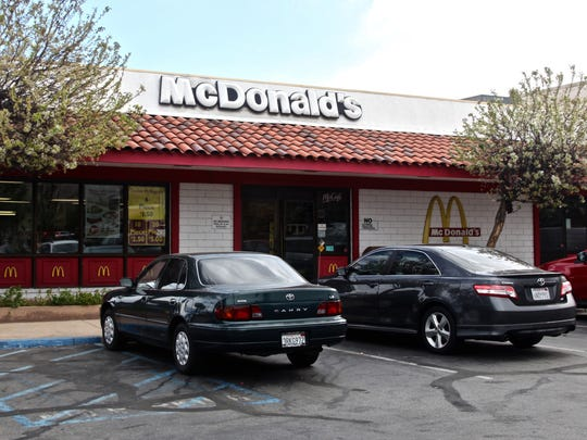 The McDonald's restaurant located on 72840 Highway 111 in Palm Desert does not have a drive-thru.