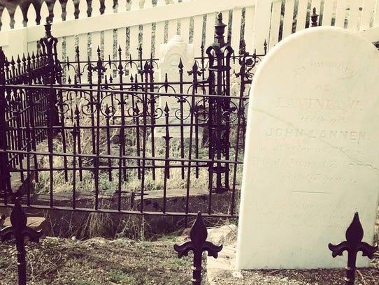 Silver Terrace Cemetery in Virginia City looks like