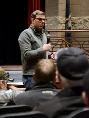 U.S. Rep. Justin Amash, R-Cascade Township, held a