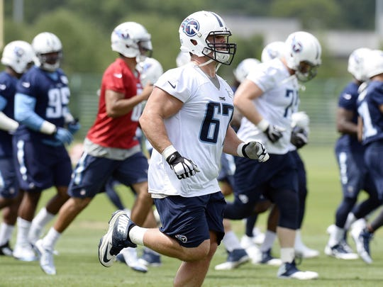 Titans guard Andy Levitre was healthy during offseason