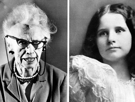 Virginia O'Hanlon Douglas, the woman who as a child