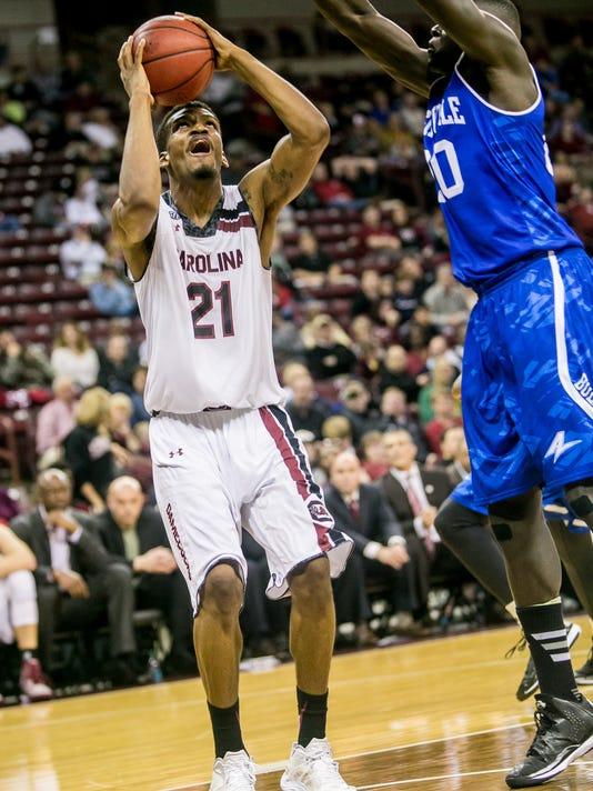 NCAA Basketball: NC-Asheville at South Carolina