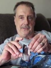 Bob Seifert, 54, at his home in Westland.