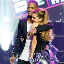 Ariana Grande with Big Sean.
