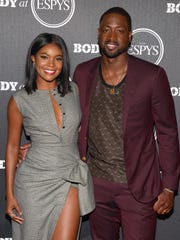 Actress Gabrielle Union  and NBA player Dwyane Wade