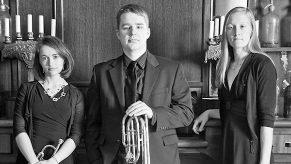 V3NTO Brass Trio performs Jan. 30 at Ripon College.
