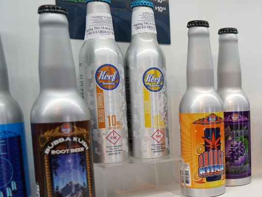 "Marijuana-infused sodas like these are widely available in cannabis dispensaries but users have complained they experiences are inconsistent and the ""high"" can take too long to kick in."
