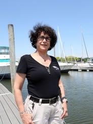 Cynthia Grundler, dockmaster at Haverstraw Marina in