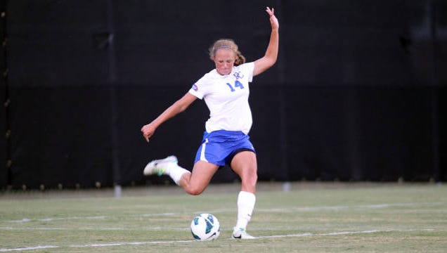 Roberson graduate Emily McCord now plays college soccer at Presbyterian.