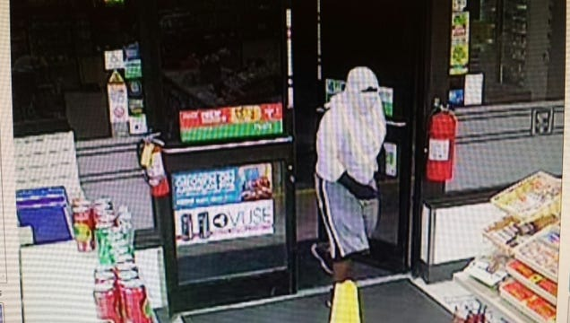 Deputies say a man carrying a gun entered the 7-Eleven on Beau Drive shortly before 11 p.m.