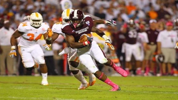 Mississippi State tight end Malcolm Johnson was named to the Mackey Award watch list on Tuesday.