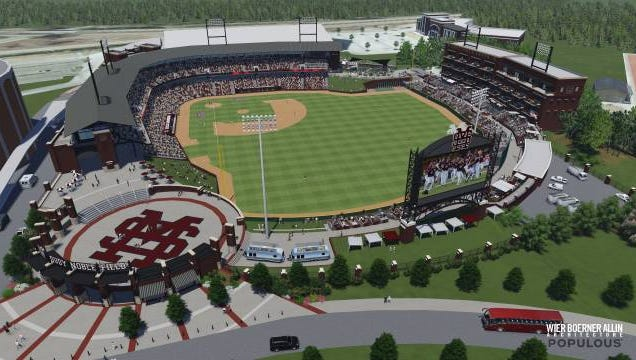 Dudy Noble Field plan
