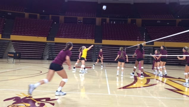 No. 25 Arizona State volleyball swept San Diego State in its season opener Friday in Hawaii.