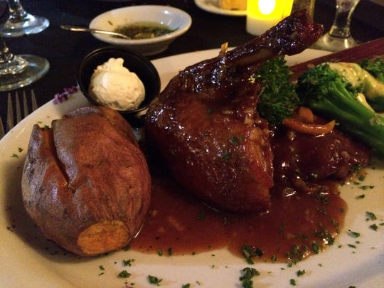 Duck Grand Marnier from Courtney's Continental Cuisine.