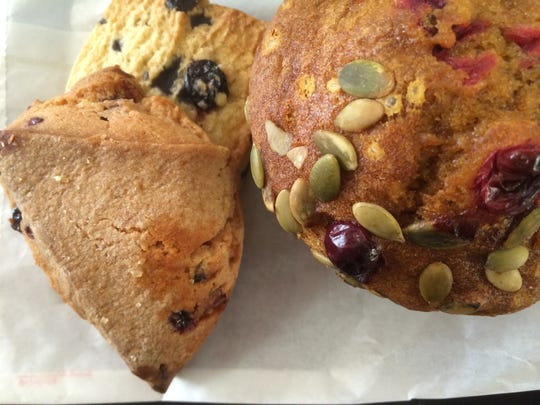 Scones and muffins are popular accompaniments.
