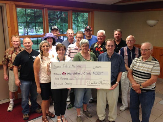Kiwanis Club Check Presentation.JPG