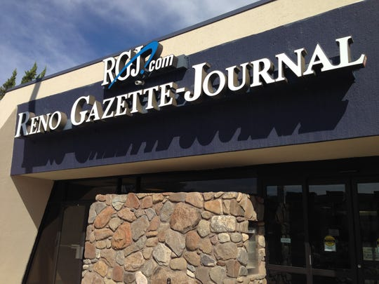 The Reno Gazette-Journal building on Kuenzli Street.