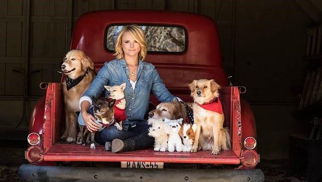 Miranda Lambert found homes for 41 dogs at CMA Music Fest.