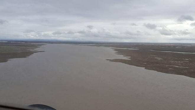 Creeks and streams along the Milk River are flooding in Phillips and Valley counties. The National Weather Service says flood stage will reach 31 feet in Glasgow, which would cause major flooding.