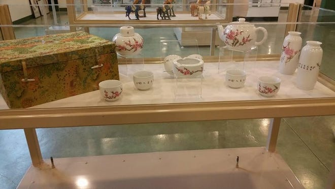 Tulare County museum to host reception for Chinese exhibit.