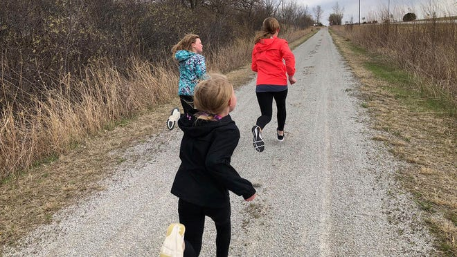 The goal of Marathon Kids is for participants to be physically active for the distance of a marathon, or 26.2 miles, by tracking one mile at a time.